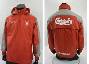 bc4172f04 The Reds 2004-2005 reebok Liverpool FC Training Jacket SIZE S ...