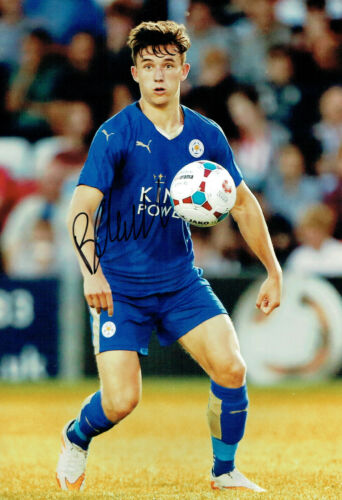 Ben CHILWELL Leicester City Signed Autograph 12x8 Photo AFTAL COA Premier League