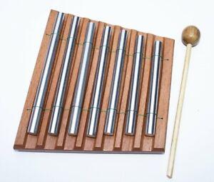 Carillons Siebenreihig Tischglockenspiel 7 Sons Avec Schlegel AgréAble à GoûTer
