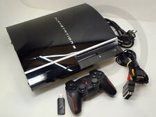 !!! PLAYSTATION PS3 Konsole Fat Lady 40GB CECHH04, Contr. gebraucht aber GUT !!!