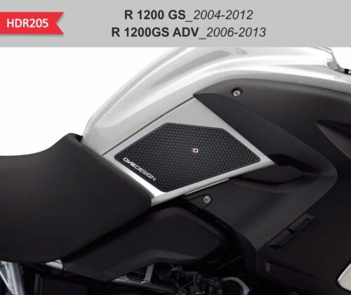 2004-2013 Schutz Seitenlichter Schwarz für Tank und Rumpf BMW R1200 Gs