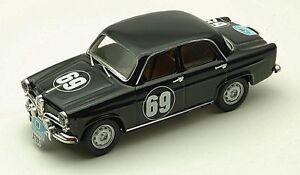 Alfa Romeo Giulietta # 69 Rallye Acropole 1959 1:43 Modèle Rio4170 Rio