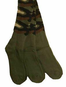 3 paia calze TERMICHE calzini uomo lunghi da lavoro rinforzati cotone felpato