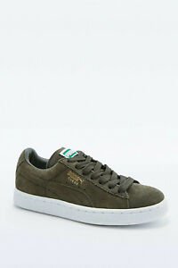 PUMA SUEDE CLASSIC TRAINERS FOREST