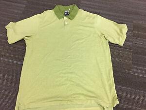 Adidas-Golf-Mens-Polo-Shirt-Size-XL-Climalite-Mercerized-Cotton-Polyester-Green