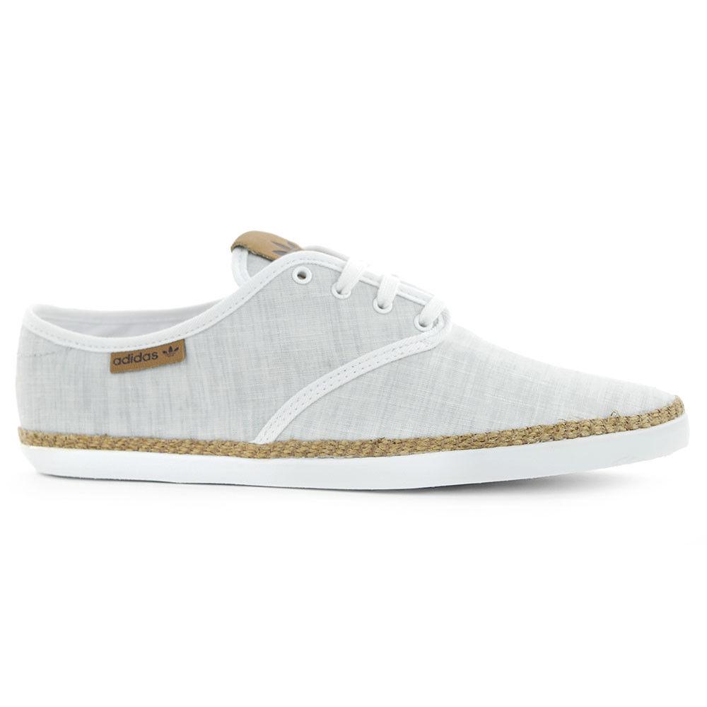 Adidas Originals Mujer Adriá Plimsole Onix gris gris gris blancoo Zapatos M19546  nuevo  tienda de venta en línea