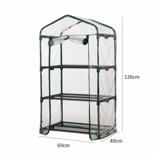 1 Pc Greenhouse Kit Clear PVC Cover Flower Mini Gardening Plant New Tent