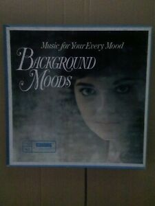 Various-Background-Moods-Music-For-Your-Every-Mood-RD26-K-10-Vinyl-LP