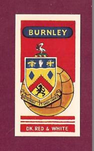 BURNLEY-FC-The-Clarets-TURF-MOOR-Club-Badge-1958-card-TURFITES