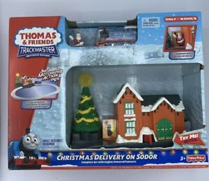 Fotos Cena Navidad Frinsa.Details About Fisher Price Thomas Friends Trackmaster Christmas Delivery On Sodor