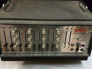 70's à Qui Bande Mixeur 100 Amp-afficher Le Titre D'origine