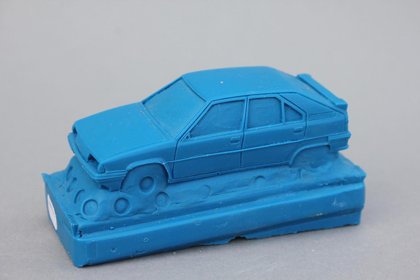 Sällsynta Die hkonsts Citroen Bx Sport Bil 1  43 Heco modellllerler fordon blå U