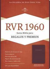 RVR 1960 Biblia para Regalos y Premios, Borgoña Imitación Piel (2016,...