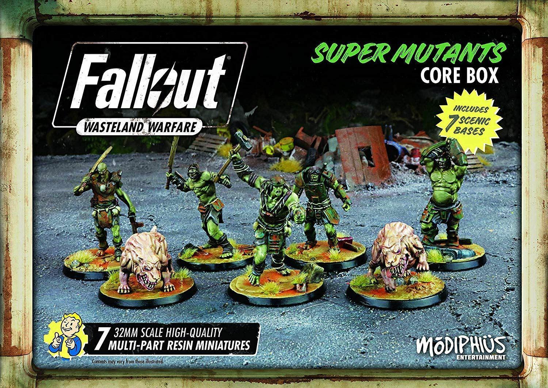 FALLOUT WASTELAND WARFARE SUPER MUTANTS CORE BOX BOARD GAME