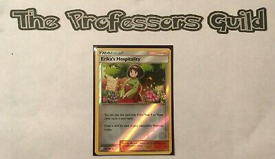 Erika/'s Hospitality NON HOLO 140//181 Team Up Pokemon Cards Playset x4 Cards