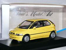 Minichamps 1991 BMW E1 Concept Pale Yellow 1/43