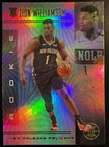 2019-20 Zion Williamson RC Panini NBA Illusions Rookie Card No. 151 RC Prizm
