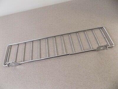 """Gondola Shelf Divider Fence Chrome Streater USA Made 19/"""" x 3/"""" Lot of 50 New"""