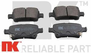Bremsbelagsatz Scheibenbremse TRISCAN 811024893 hinten für OPEL