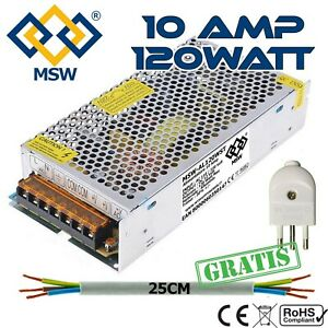 Trasformatore-Alimentatore-Stabilizzato-10A-Amp-Out-12V-Imput-220V-120-Watts
