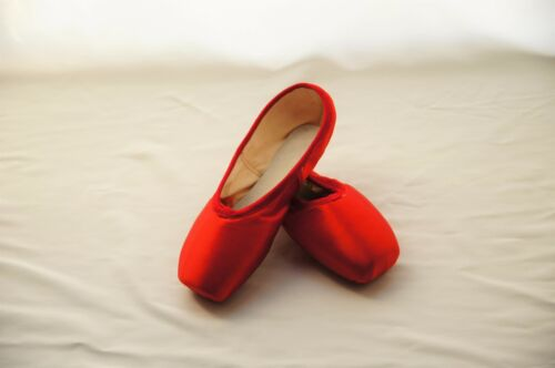 Brand New Red Pointe Shoes Size 9//9.5