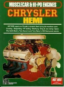 Musclecar-amp-Hi-Po-Engines-Chrysler-Hemi-Keith-Black-039-S