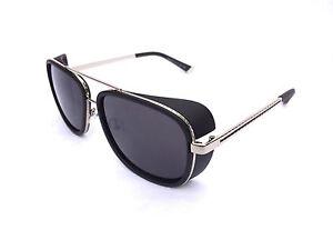 7c7d3574af1c Iron Man Sunglasses Black Silver Robert Downey TONY STARK ORIGINAL ...