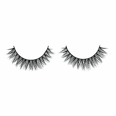 Siberian Real Mink Eyelashes Strip Lashes - Amelia