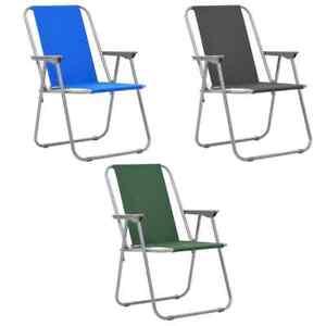 Camping Terrasse 2x Plage Vidaxl Chaise Fauteuil Jardin Pliable De HW2DI9YE