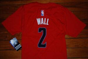 8ba4dbb6b3 NEW Adidas  2 John Wall Washington Wizards Jersey Shirt (Youth Small ...