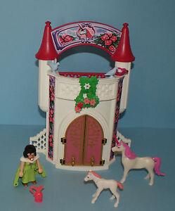 Playmobil chateau princesse set 4777 ebay for Chateau playmobil princesse 4250