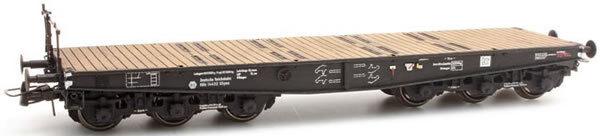 HO Roco Artitec Flat Railway Car 20.320.01 Six Axle