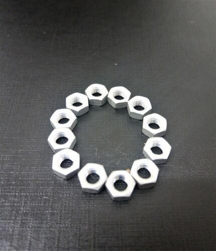 M5 HEX ALUMINIUM FULL NUTS 10 pack