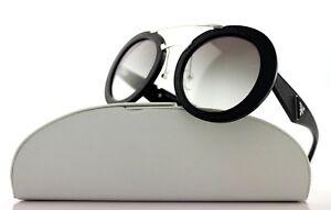 5c7a0f924f Image is loading 700-Genuine-PRADA-MILANO-Ornate-Saffiano-Leather-Sunglasses -