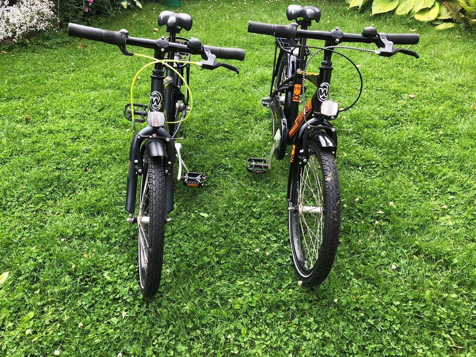 Drengecykler -  brugt af tvillinger