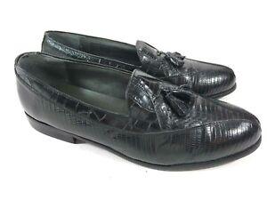 Scarpe di Mocassini con eleganti M Adams nera shirt 23021 13 serpente pelle Stacey Nappa uomo T 01 7O4IE