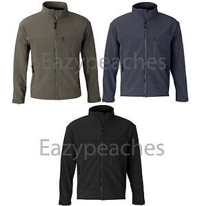 OOBE-Mens-Size-S-L-2XL-3XL-SoftShell-DuPont-WATERPROOF-Full-Zip-Jacket-150