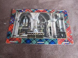 B-amp-R-camera-series-Scottish-Greeting-postcard-Scottish-clans-amp-tartan-Church