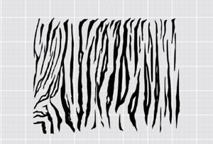 Image Is Loading High Heat Tiger Stripe Camo Vinyl Firearm Stencil