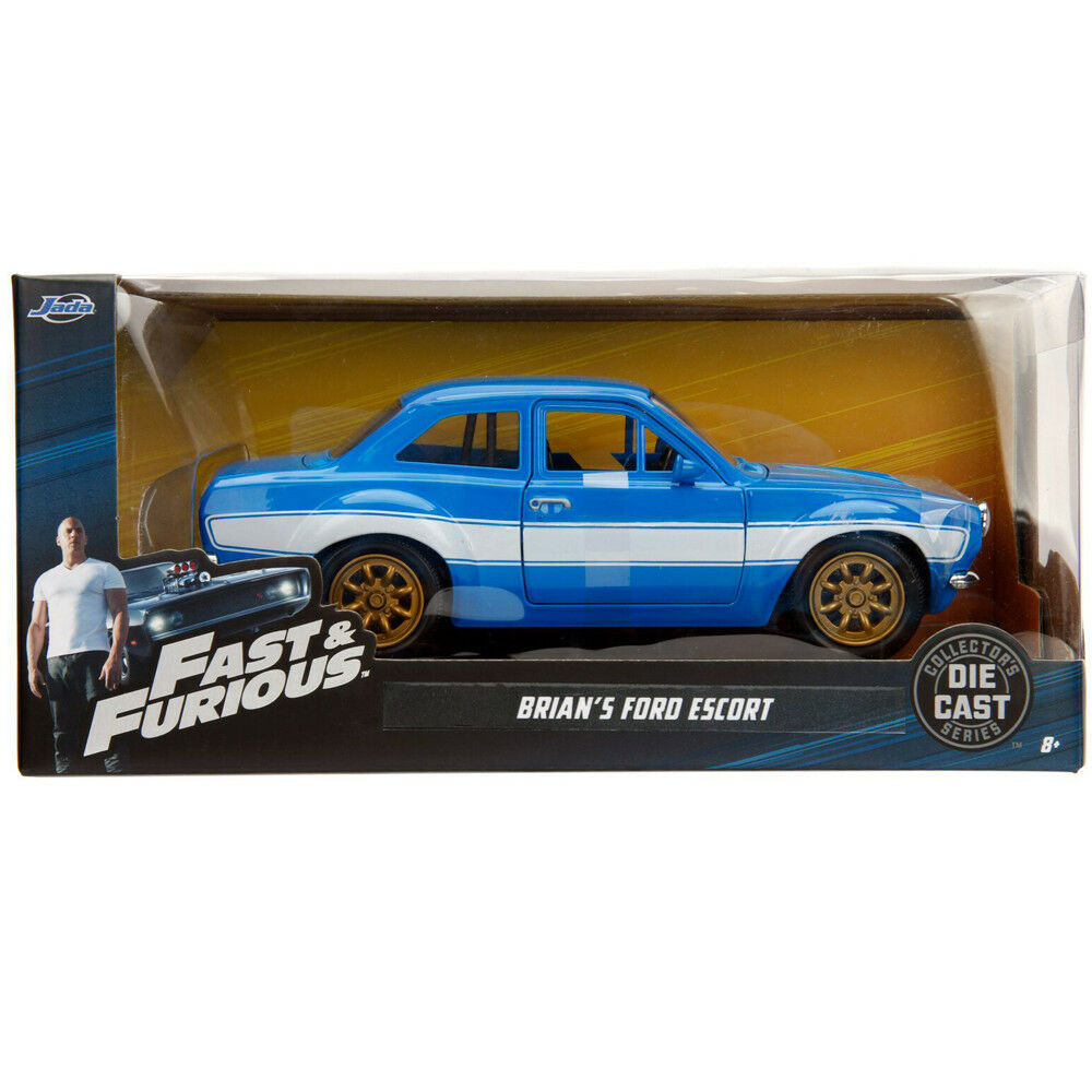 Fast /& Furious BRIAN/'S FORD ESCORT Die Cast 1//24 Jada Toys 99572 New Nuovo
