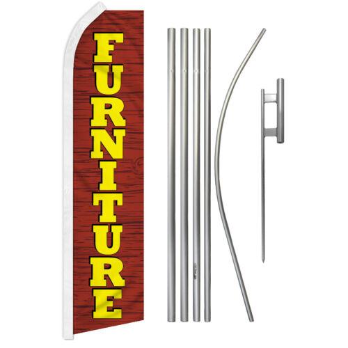 Furniture Swooper Flutter Feather Advertising Flag Pole Kit Furniture Store Flag
