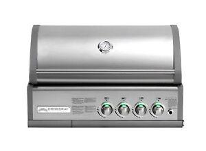 Einbau Gasgrill Outdoor Küche : Einbau gasgrill crossray by heatstrip 4 brenner mit infrarot