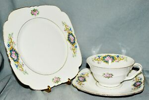 Collector-039-s-Place-Setting-Collection-Cup-Art-Deco-Bareuther-Bavaria-Gold