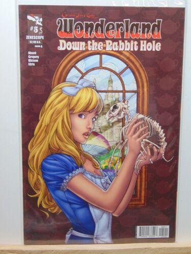 Wonderland Down the Rabbit Hole #5 Cover A  Zenescope Variant CB5892
