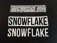 Sizzix Die Cutter SNOWFLAKE WORD CHRISTMAS  Thinlits fits Big Shot Cuttlebug