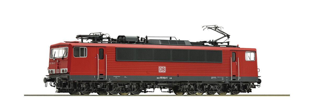 Roco 73619, eléctrico locomotora BR 155, DB AG, caja digital + Sonida, nueva y original, H0