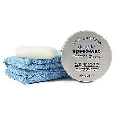 Bilt Hamber Double Speed-Wax 250ml - FREE App-Pad & MF Cloth