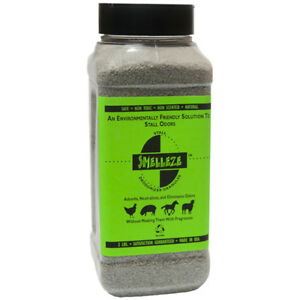Details about SMELLEZE Natural Stall Odor Removal Deodorizer: 50 lb  Gran   Remove Urine Smell