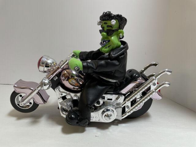 Dan Dee Animated Halloween Frankenstein On Motorcycle * Does not work*