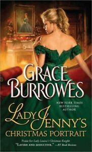 Lady-Jenny-039-s-Christmas-Portrait-Paperback-by-Burrowes-Grace-Like-New-Used